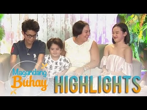 Magandang Buhay: Karla stands as second mom to her nieces and nephews