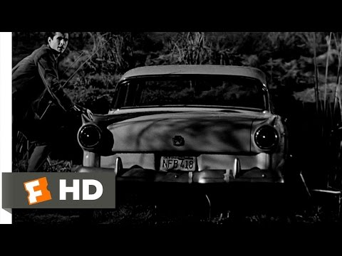 Psycho (7/12) Movie CLIP - Sinking Marion's Car (1960) HD