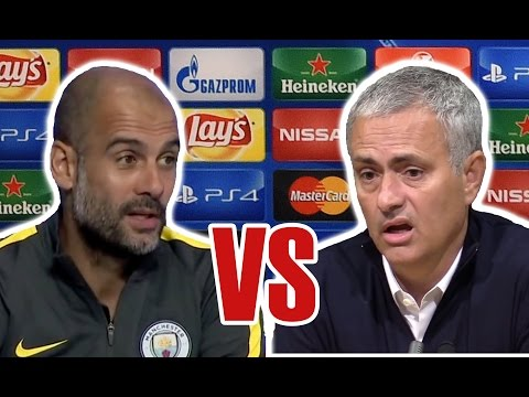 Pep Guardiola vs Jose Mourinho RAP BATTLE