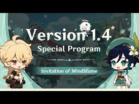 Версия 1.4 Специальная программа   Genshin Impact
