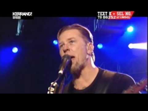 Metallica with Joey Jordison (Slipknot) / Enter Sandman / Live High Quality