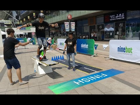 Ninebot world carnival 2016, Shenzhen city of China.