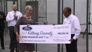 Ford Motor Company Fund Check Presentation