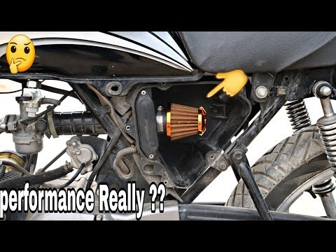 Installation HP air filter for high performance  & mileage   modification   giveaway