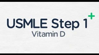 USMLE Step 1: Vitamin D Activation