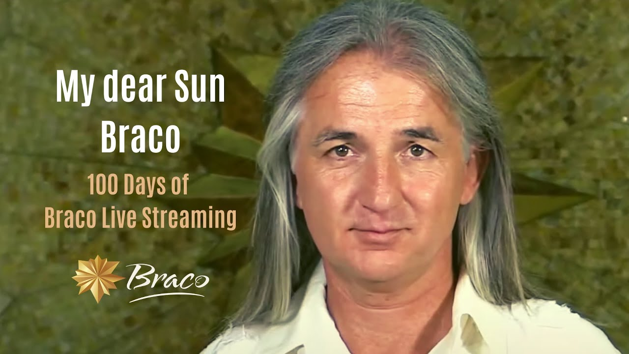 My dear Sun Braco - 100 Days of Live Streaming of Braco's Gaze