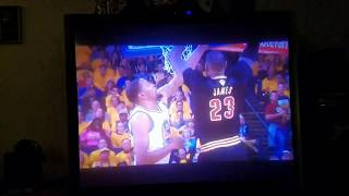 Lebron POSTERIZES Durant in Finals Game 5!