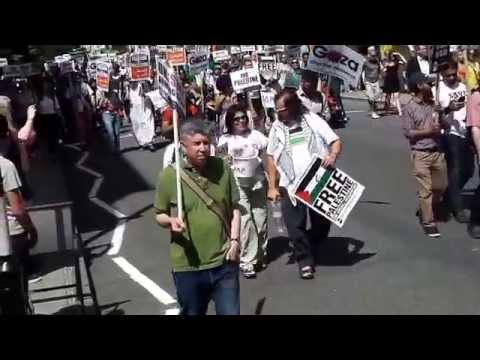 National Demo for Gaza - London 09.08.2014