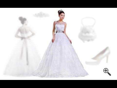 Türkische Brautkleider mit Glitzer suchte Saliha & wir schenkten ihr ...