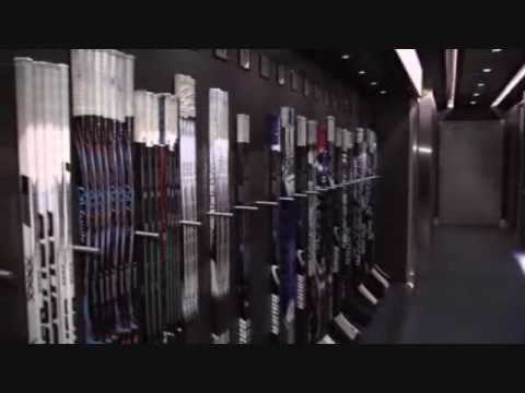 Vancouver Canucks Locker Room