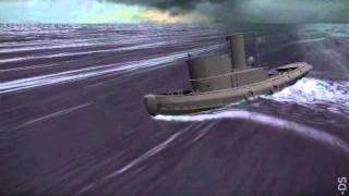 Tugboat broaching