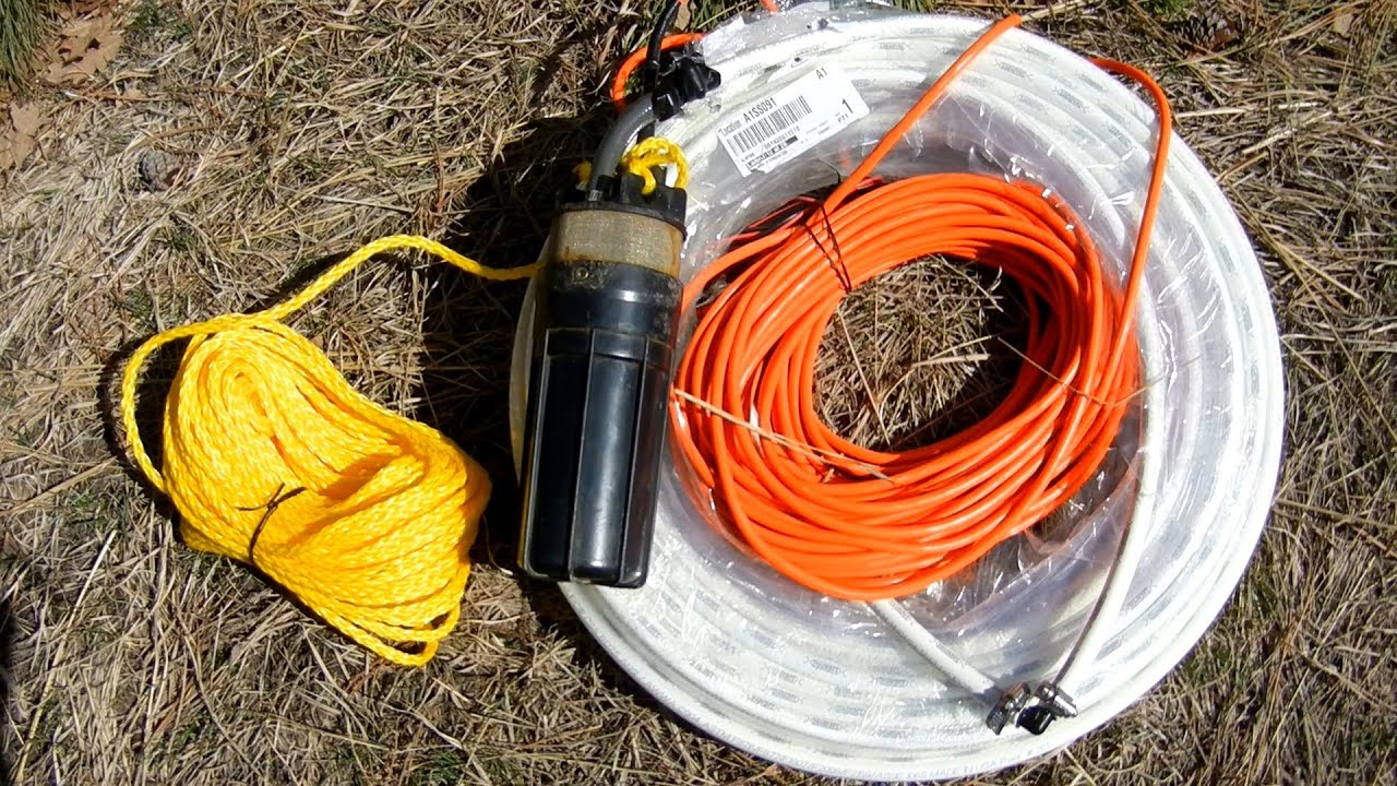 Solar Well Pump Installation Youtube Electrical Wiring