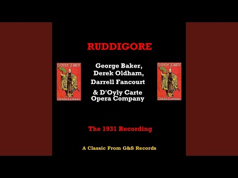 Ruddigore (1931 Version) : Painted Emblems Of A Race