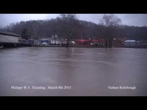 Philippi West Virginia.... Flooding 6pm March 4th 2015