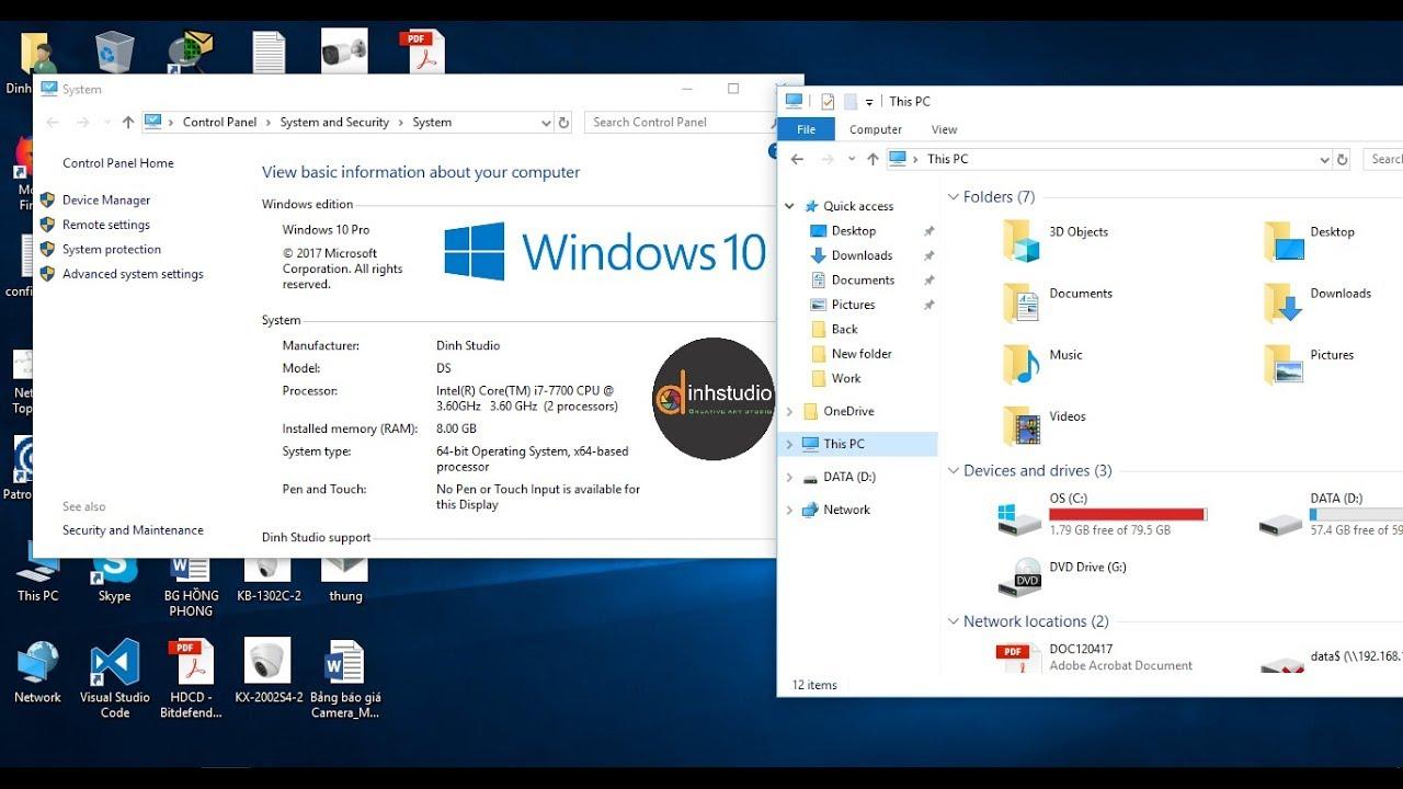 Hướng dẫn di chuyển thư mục từ ổ C sang ổ D hoăc E trên Windows 10