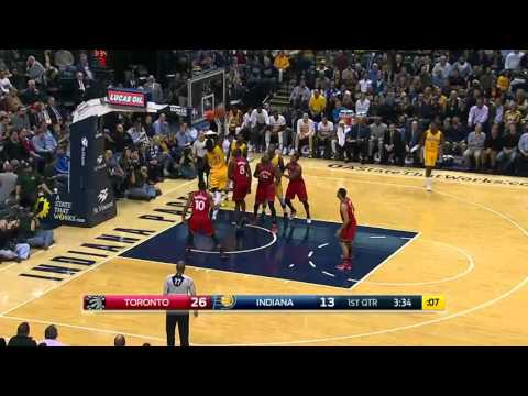Toronto Raptors vs Indiana Pacers | December 14, 2015 | NBA 2015-16 Season