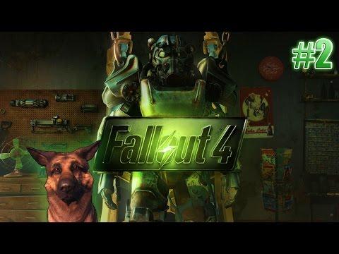 Fallout 4 на PS4 - #2 - Выход из убежища
