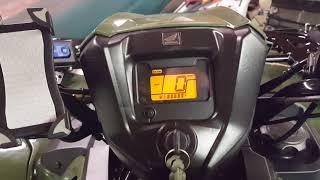 2017 Honda Rubicon DCT shifting issues