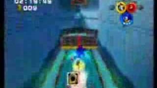 Sonic Heroes: A-Rank Grand Metropolis - Team Sonic