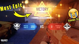 Call Of Duty Mobile | Hard Point Match | 150-0 Win