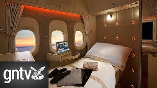 A tour inside Emirates' new first class cabin. From First Class to ...