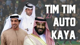 Cerita 3 Konglo Arab yang  Mengubah Nasib Manchester City, PSG, Newcastle