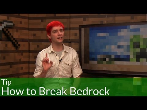 Tip: How to Break Bedrock in Minecraft - Видео из Майнкрафт (Minecraft)