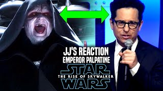 Star Wars The Rise Of Skywalker! JJ Abrams Reaction To Palpatine! (Star Wars Episode 9)