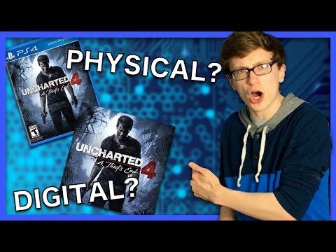 Physical vs Digital Games - Scott The Woz