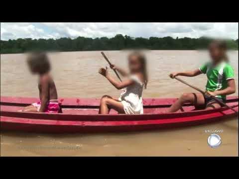 Crianças são abusadas por donos de balsa em troca de comida no Pará