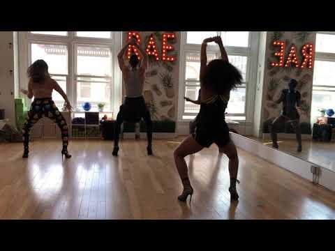 Rae Studios   City Girls 'Act Up'- TWERKIN Heels w/Mariah Mendez #RaeCrewStrong