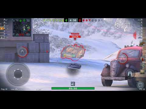 Уничтожаем танки в игре на телефон | War Thunder