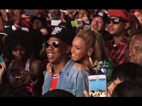 Beyonce And Jay Z Secretly Blend In With Crowd At Made In America Festival