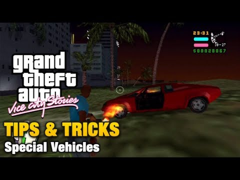 GTA Vice City Stories - Tips & Tricks - Special Vehicles