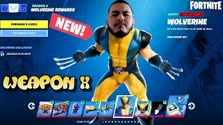 🔴 Wolverine UPDATE! CUSTOMS: Fashion Shows and Hide and Seek | !giveaway | - Fortnite: Chapter 2