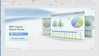 Cognos 10 Training - Report Studio Basics - Part 1 of 30