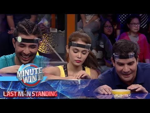 Mini Order's Up | Minute To Win It - Last Man Standing