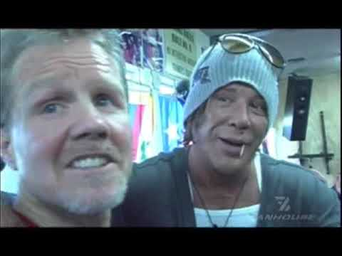The History of Wild Card Boxing Club With Mickey Rourke