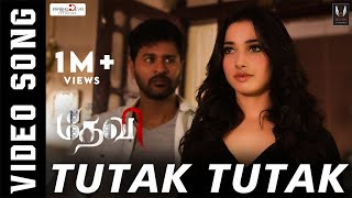 Tutak Tutak - Devi | Official  Video Song | Prabhudeva, Tamannaah, Amy Jackson | Sajid-Wajid | Vijay