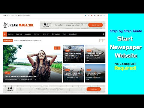 How To Build A Newspaper Website In WordPress From Scratch?