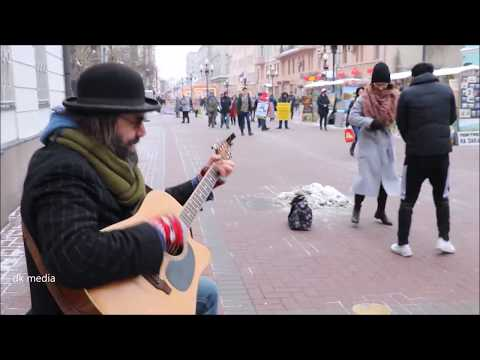 AMAZING STREET ROCKING BY RAMAD AT ARAB STREET MASCOW RUSSIA 3