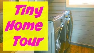 Tiny Home Tour Video | Tampa Bay Tiny Homes | Full Size Bathroom
