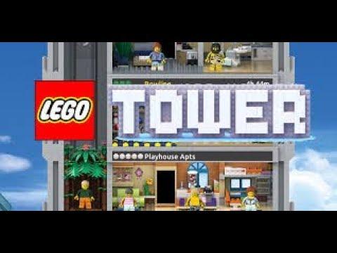 Fastest LEGO Elevator In LEGO Tower Max. Level