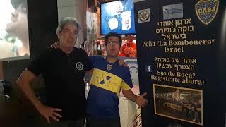ארגון אוהדי בוקה ג'וניורס בישראל תומכים ב אירוע יום הולדת 10 לפיצרייה סלסטה