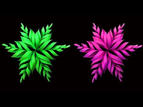 How To Make Beautiful Snowflake Christmas Star Christmas Crafts Hd