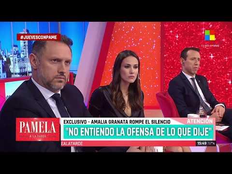 Amalia Granata: Me echaron por mi lucha en contra de la legalización del aborto