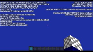 Minecraft 5,000 FPS!