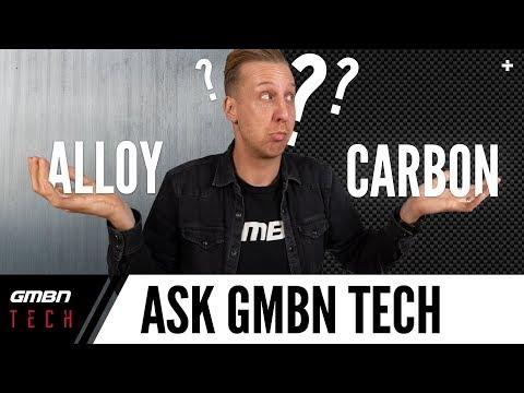 Should You Buy Alloy Or Carbon Mountain Bike? | Ask GMBN Tech