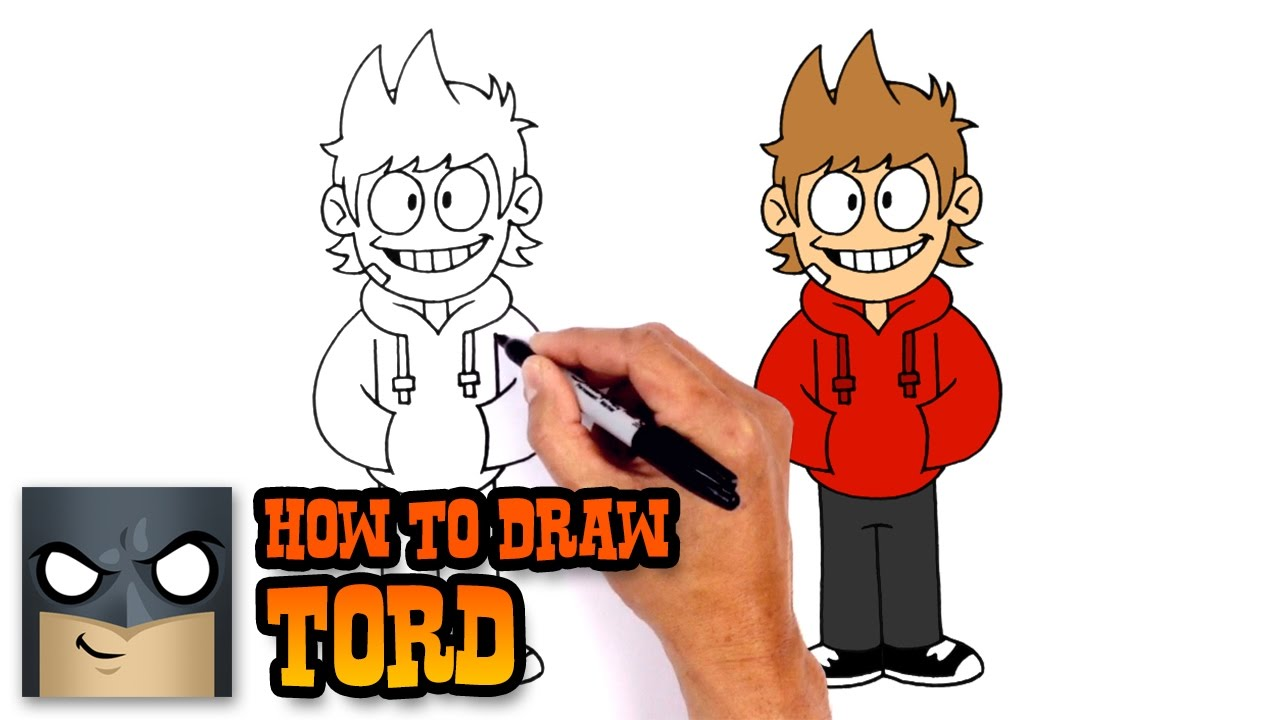 How To Draw Tord Eddsworld Youtube