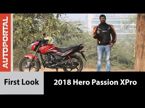 2018 Hero Passion XPro - First Ride Review - Autoportal